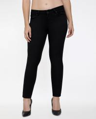 Recap Black Shaded Womens Ankle Length Jeans