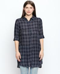 Recap Blue Checkered Shirt