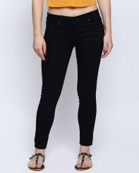 Recap Blue Shaded Ankle Length Jeans