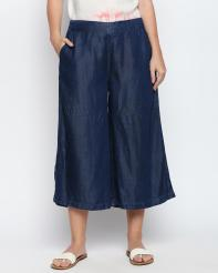 Recap Blue Shaded Culottes