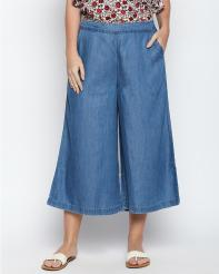 Recap Light Blue Shaded Culottes
